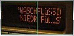 Saab SID1, SID2, Pixelfehler Reparatur